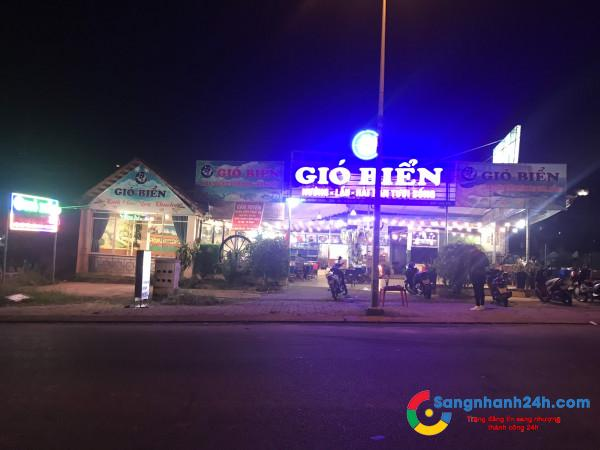 Cần sang nhà hàng vị trí đông dân cư, view thoáng mát, sạch sẽ, trung tâm Thủ Dầu Một.