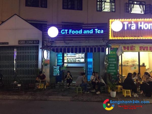 Sang nhanh tiệm trà chanh với trà sữa nằm khu dân cư đông đúc, mặt tiền ngõ 298 Tây Sơn, quận Đống Đa, Hà Nội.