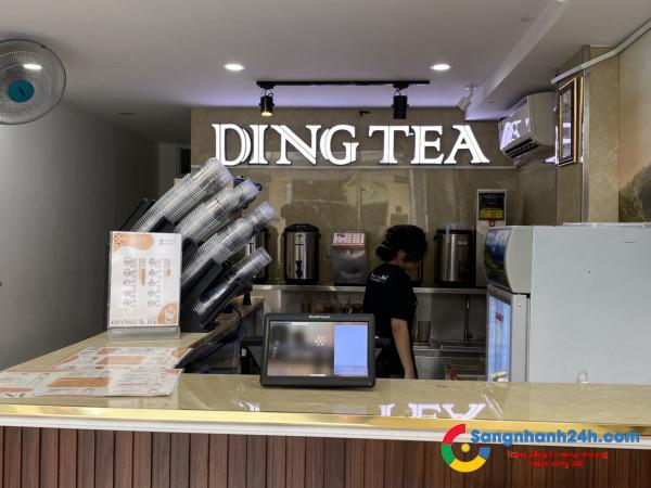 Quán trà sữa - sinh tố