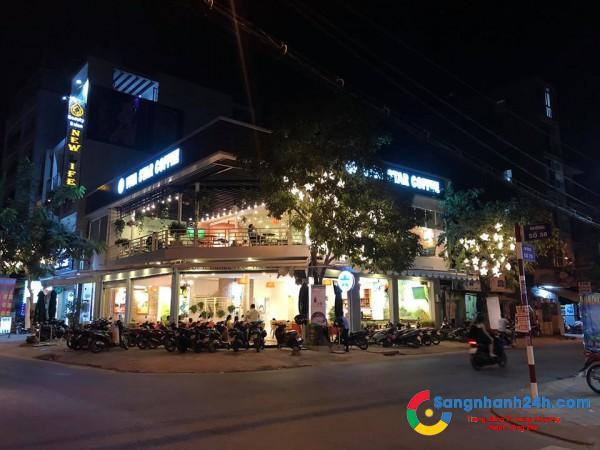 Sang quán Café mới Nhượng quyền Viva Star Góc 2 mặt tiền